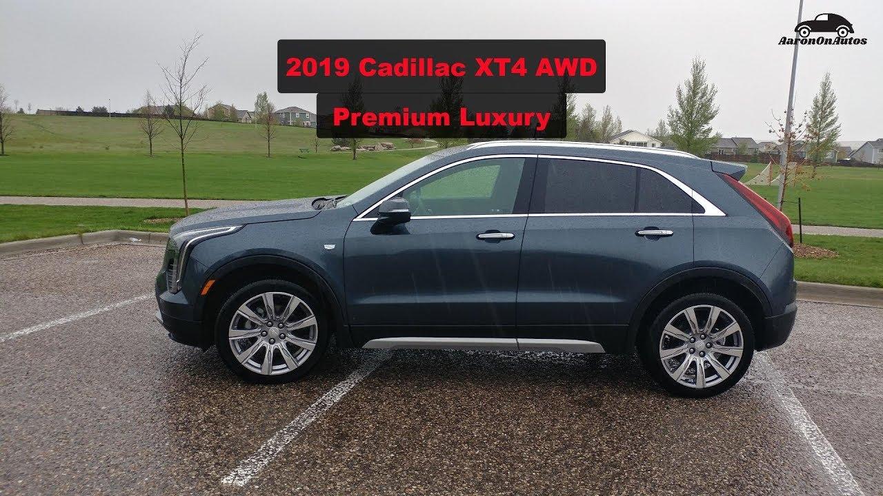 2019 Cadillac XT4 PREMIUM LUXURY Quick Review