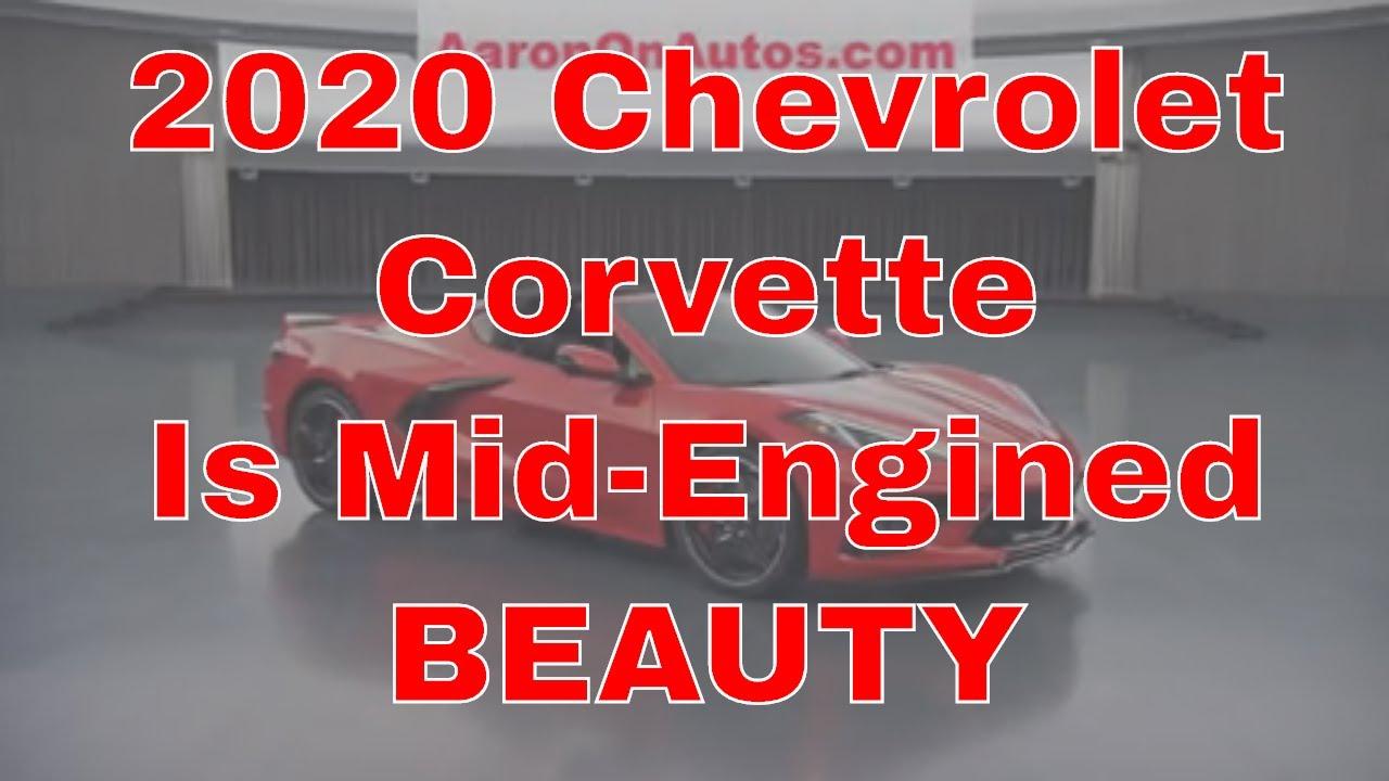 2020 Chevrolet Corvette Stingray FINALLY Unveiled