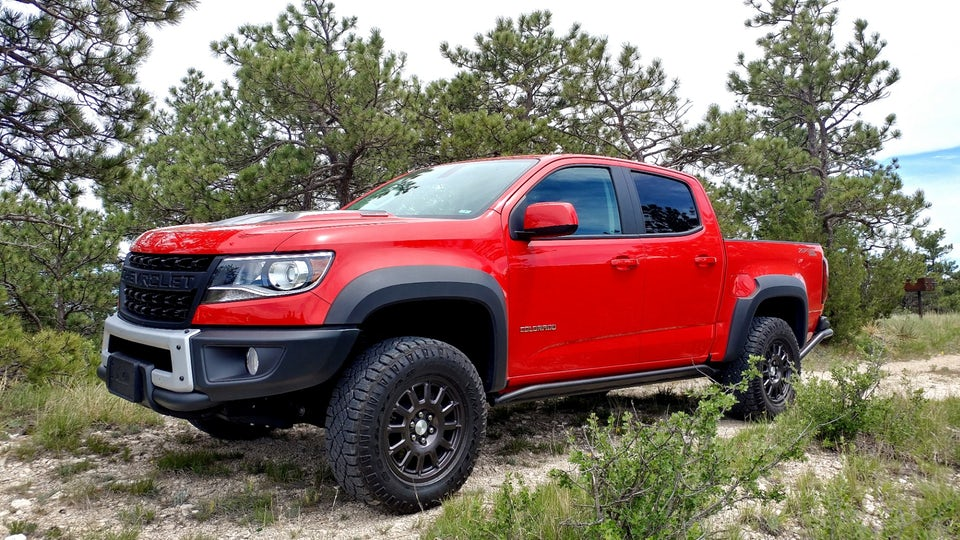 Review: Taking the 2019 Chevrolet Colorado Bison to the High Plains