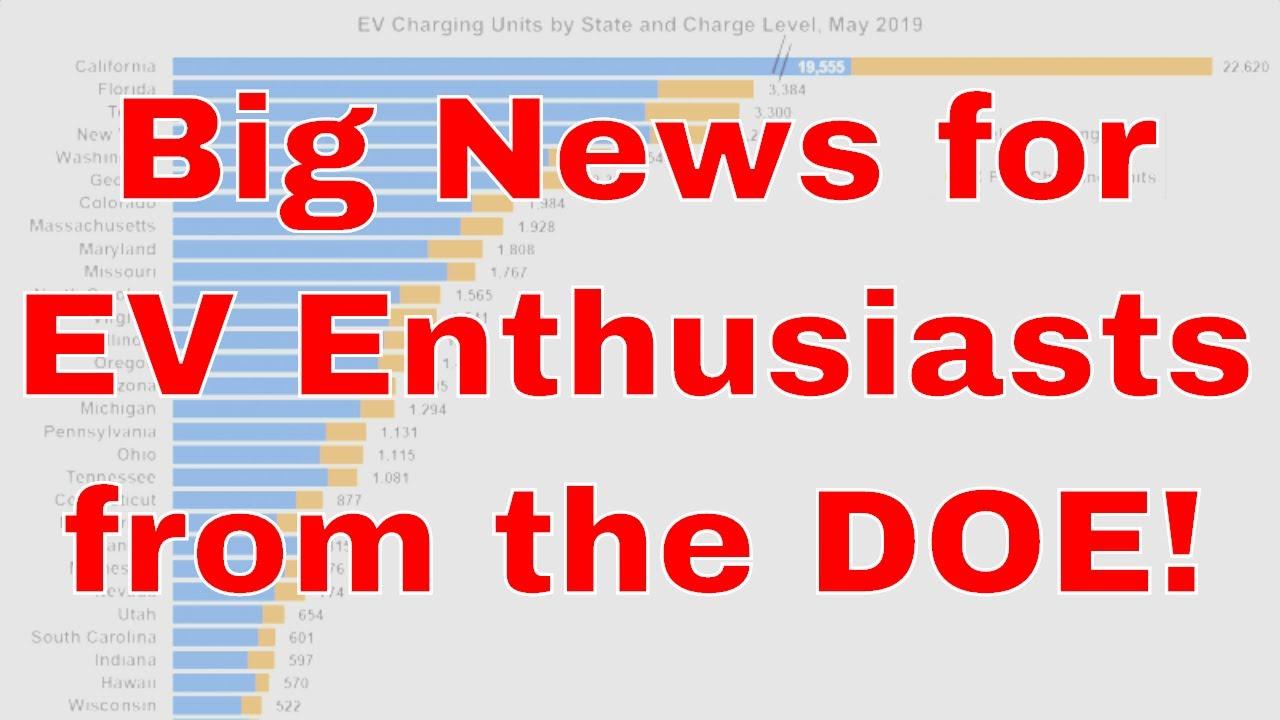 DOE Public Charging Stations Report Is HUGE News