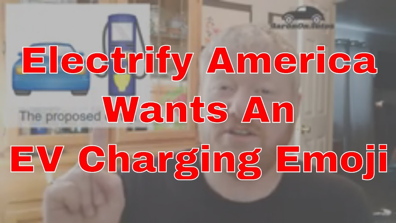 Electrify America Wants An EV Charging Emoji