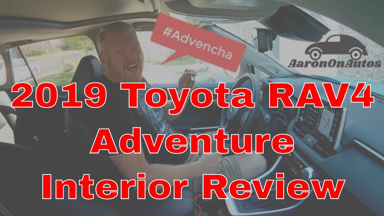 2019 Toyota RAV4 Adventure interior review