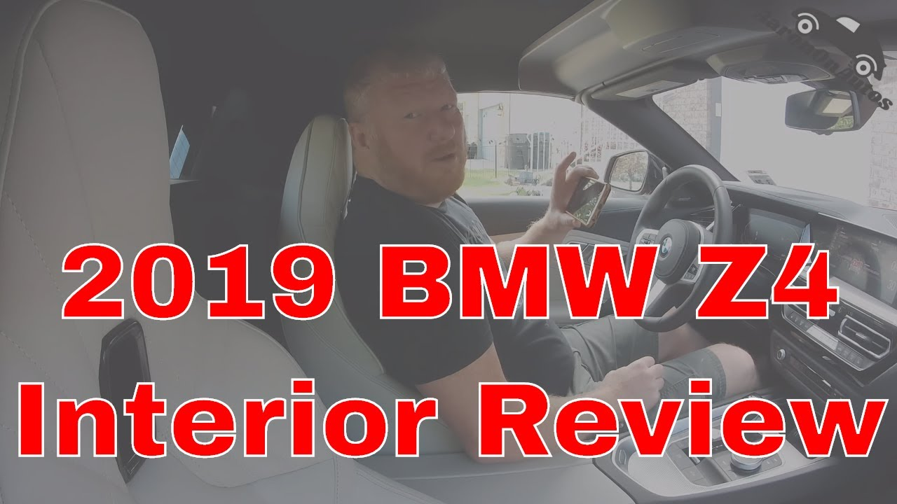 2019 BMW Z4 interior review