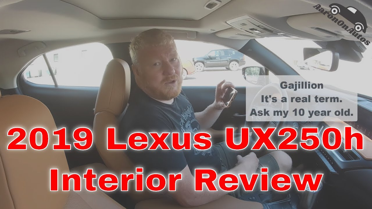 2019 Lexus UX250h Interior Review