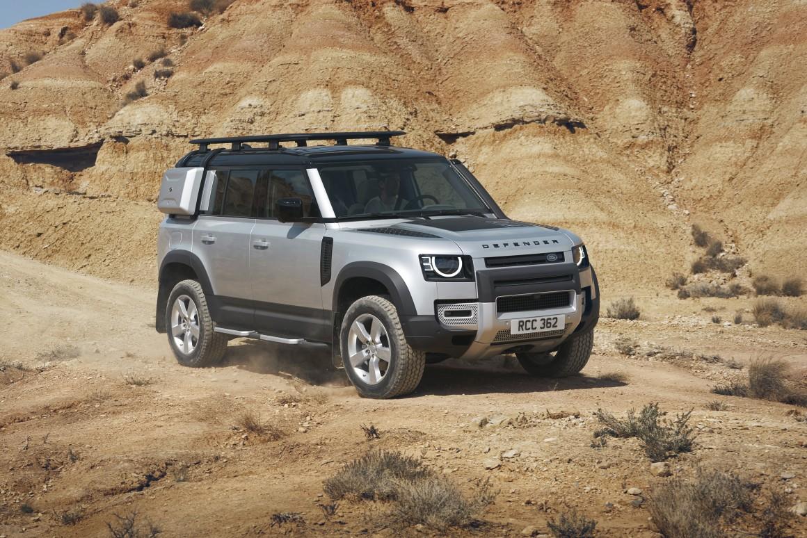 The legend reborn: 2020 Land Rover Defender debuts in Frankfurt