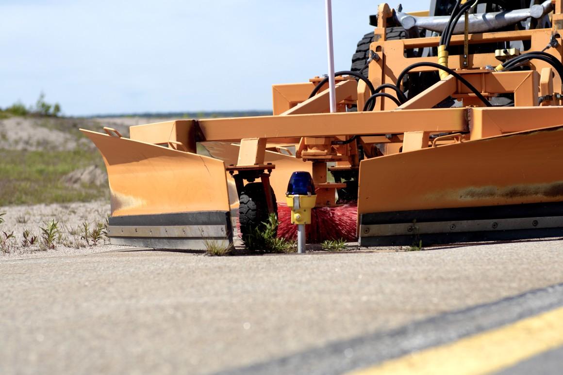 LFV testing autonomous airport snow removal equipment