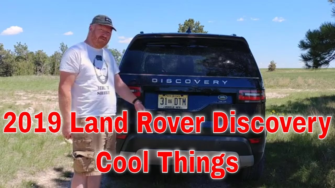 Cool Things In a 2019 Land Rover Discovery