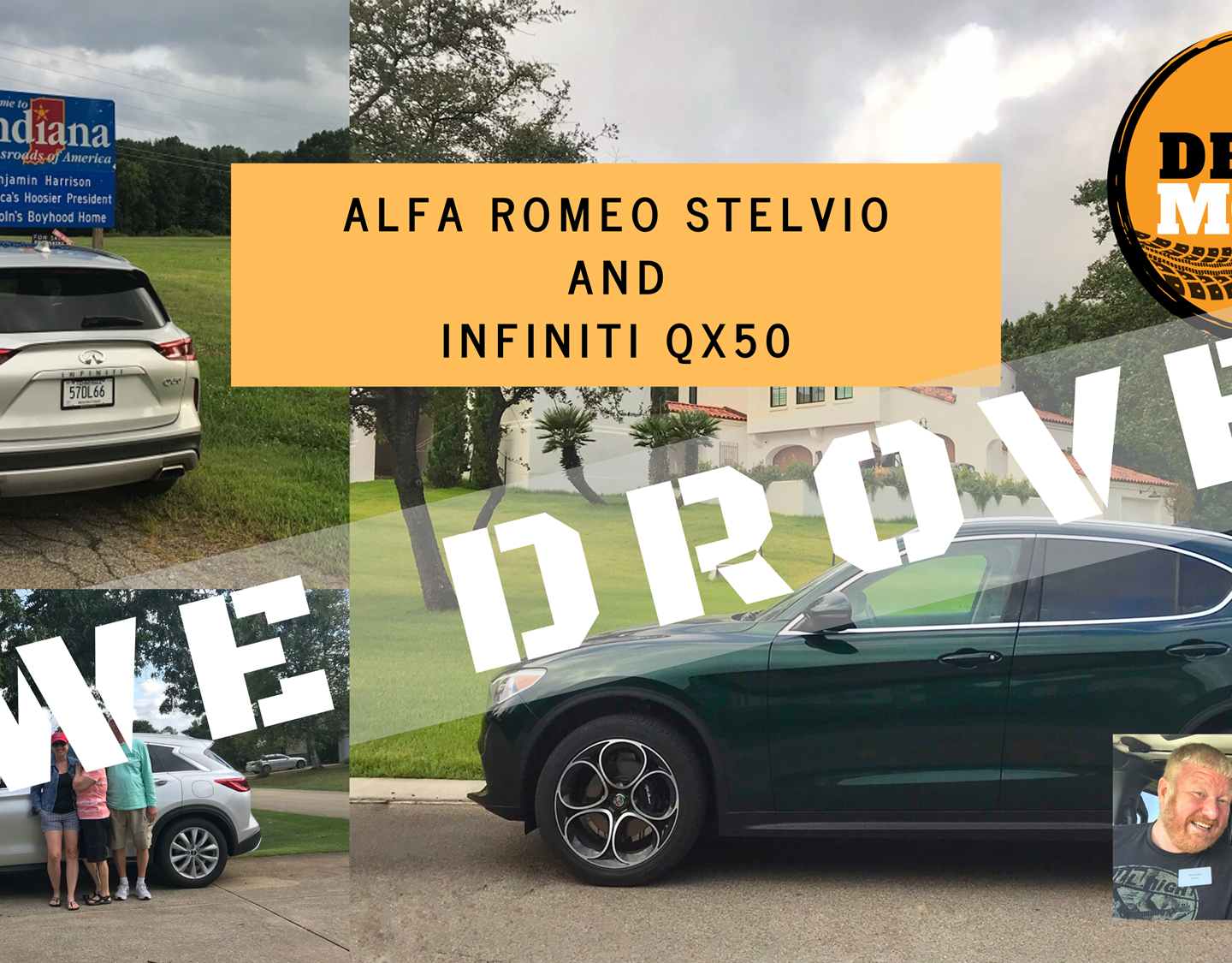 Alfa Romeo vs Infiniti – Talking Stelvio and QX50