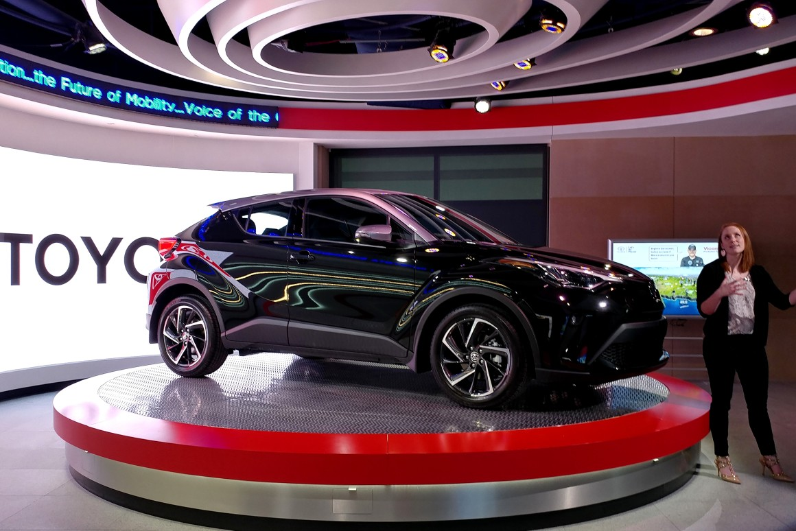 Toyota unveils 2020 C-HR compact crossover