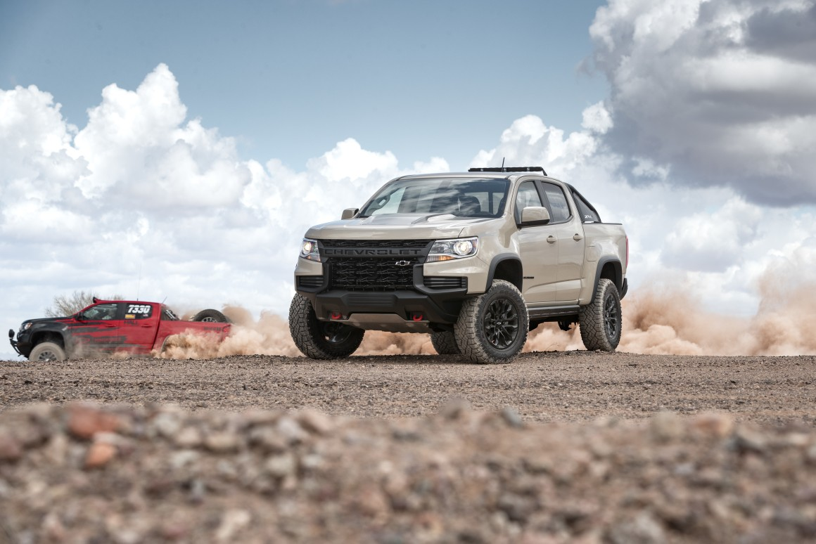 Chevrolet debuts two new Colorado ZR2 models