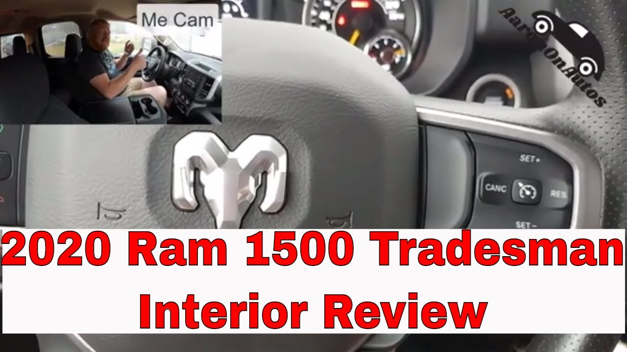 2020 Ram 1500 Tradesman EcoDiesel interior review
