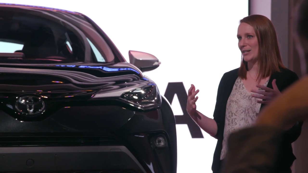 2020 Toyota C-HR Sneak Peek