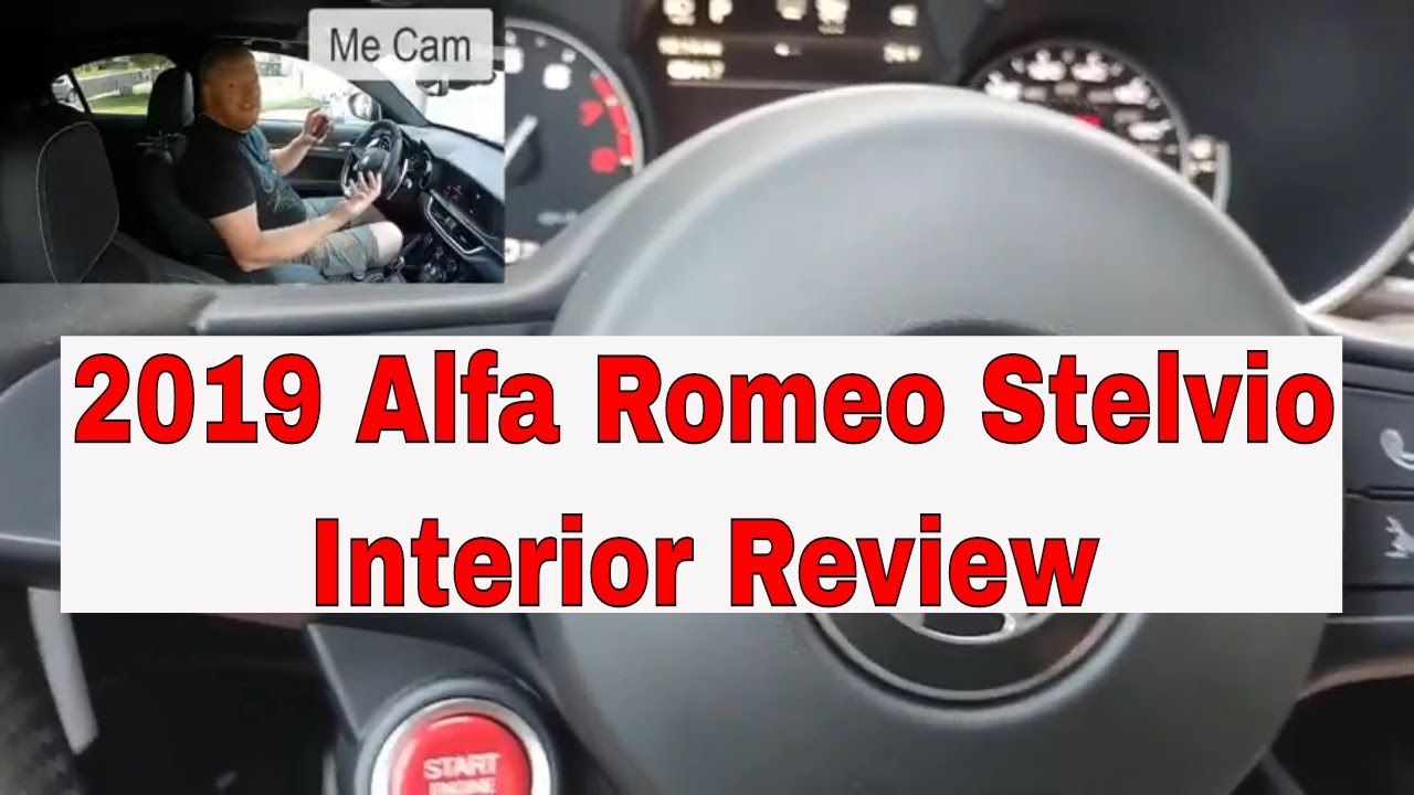 2019 Alfa Romeo Stelvio inteior review