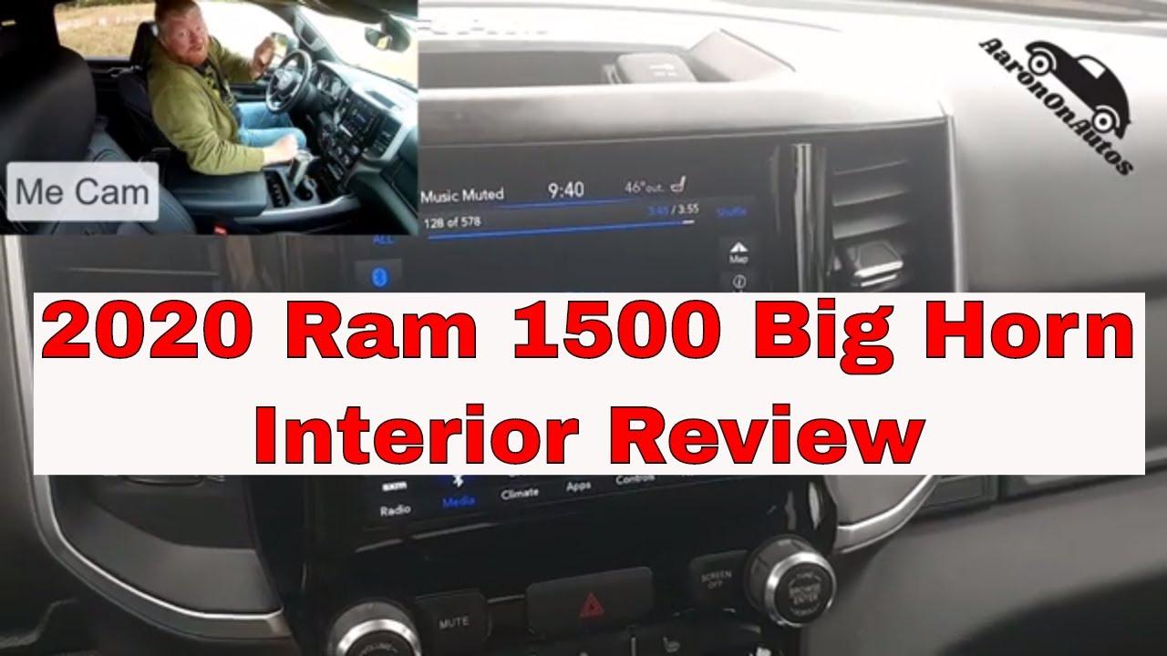 2020 Ram 1500 Big Horn interior review