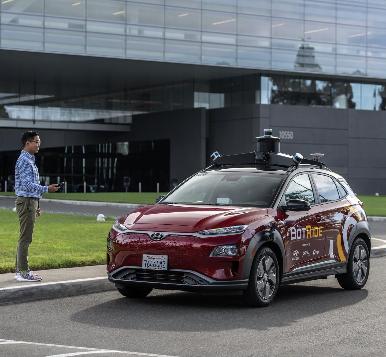 Hyundai Starting BotRide Service In Irvine, CA