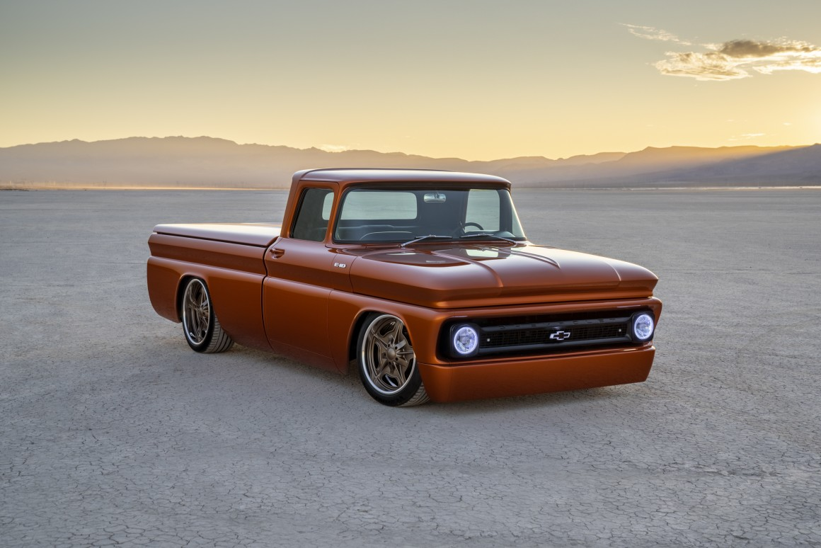 Chevy hot-rods a 1962 pickup with high Boltage