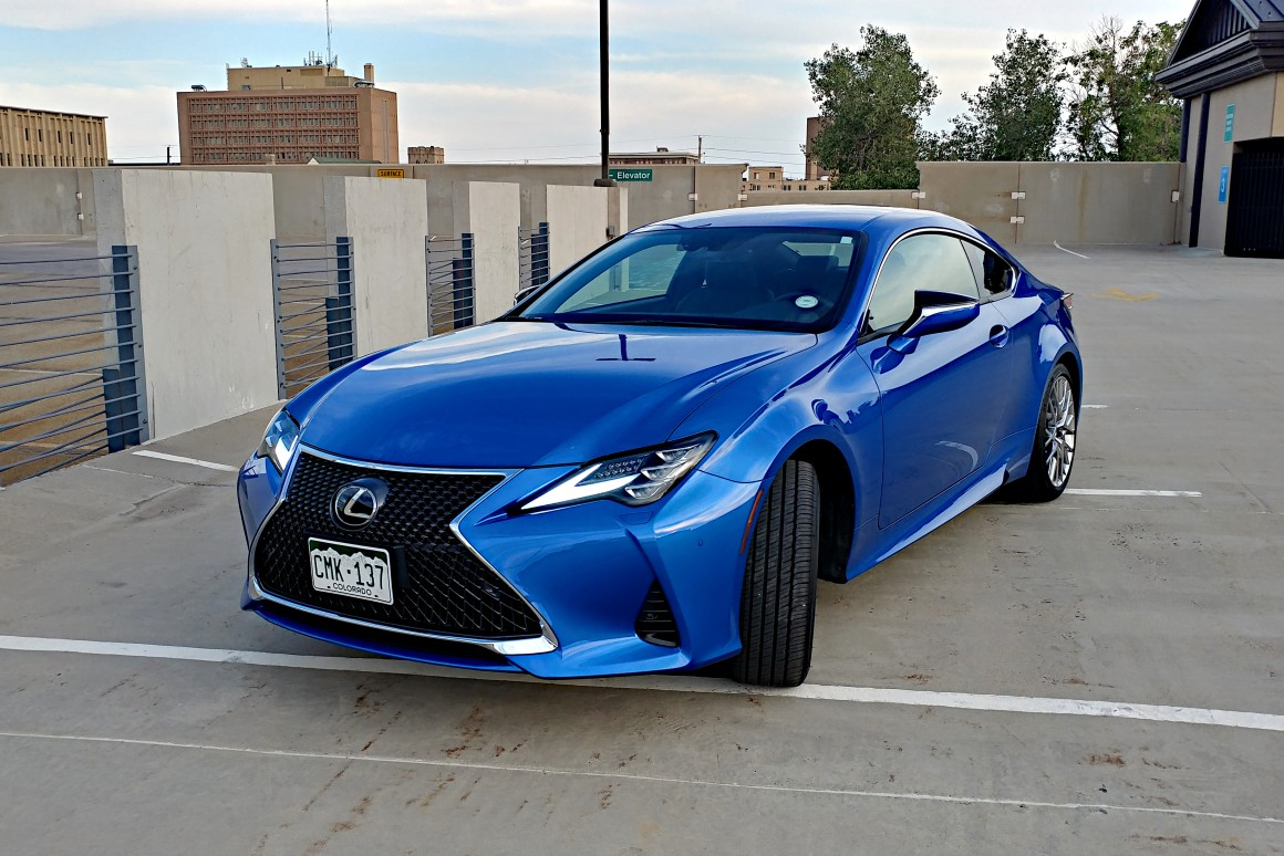 Review: Chagrinin' it in a 2019 Lexus RC 350