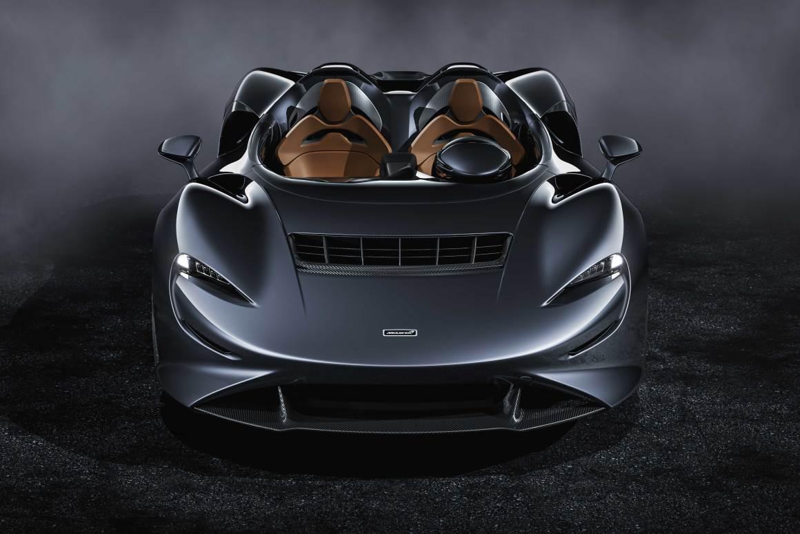 """McLaren's new Elva roadster has a literal """"wind-screen"""""""