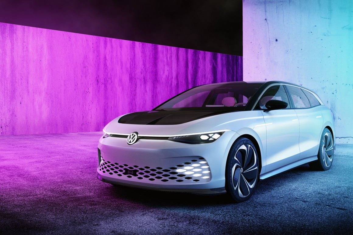 Volkswagen drops ID Space Vizzion Concept in LA