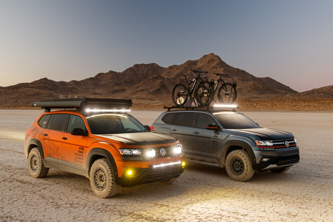 Volkswagen hits SEMA with overland themes and a specialty GLI