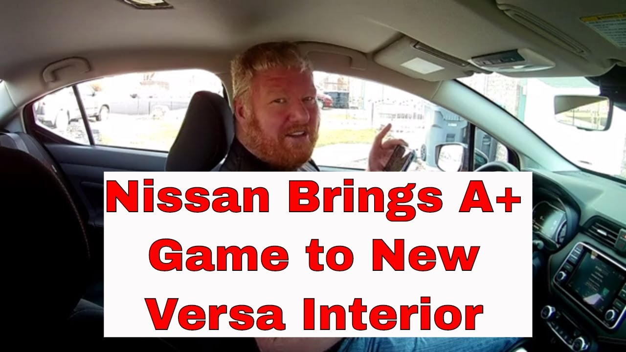 2020 Nissan Versa interior review