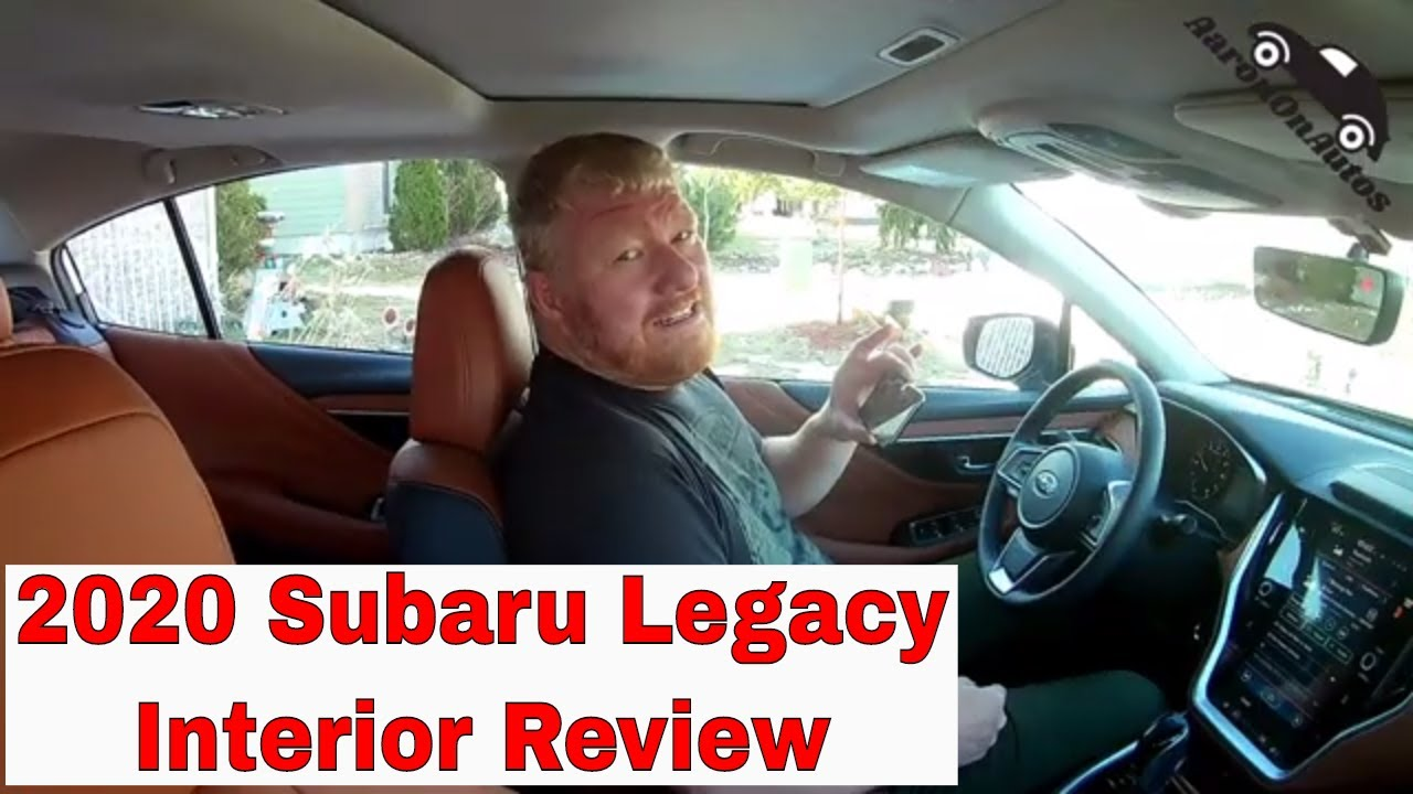 2020 Subaru Legacy interior review
