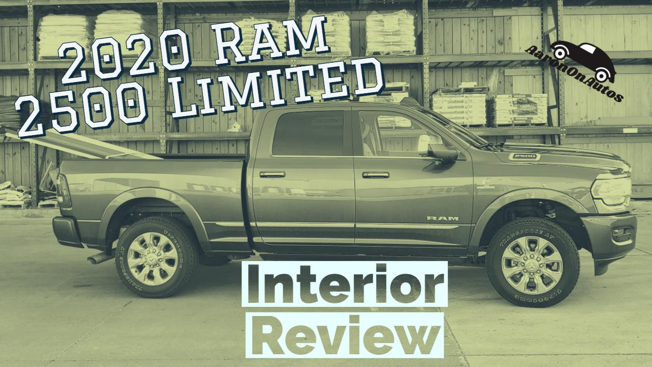 2020 Ram 2500 interior review