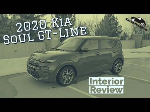 2020 Kia Soul GT Line interior walk through