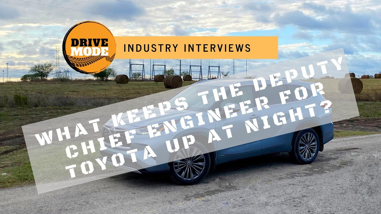 2020 Toyota Highlander Interview with the Deputy Chief Engineer