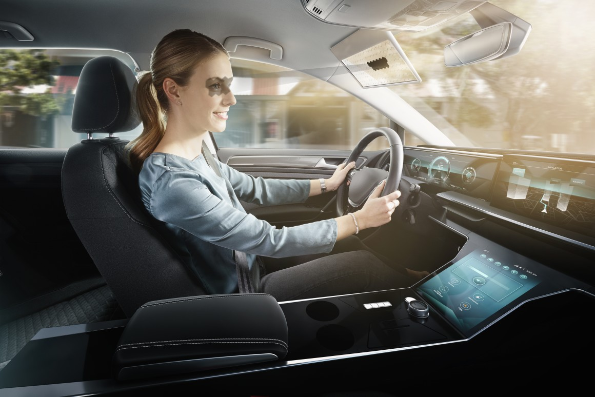Bosch driver-safety concept aims to reinvent your car's sun visor