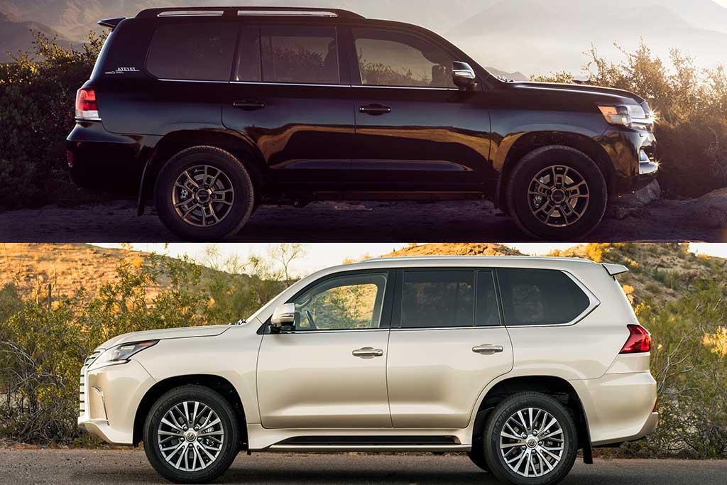 Fan Question: Toyota Land Cruiser vs Lexus LX 570