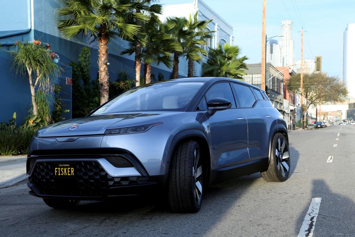 Fisker Ocean electric SUV unveiled at CES