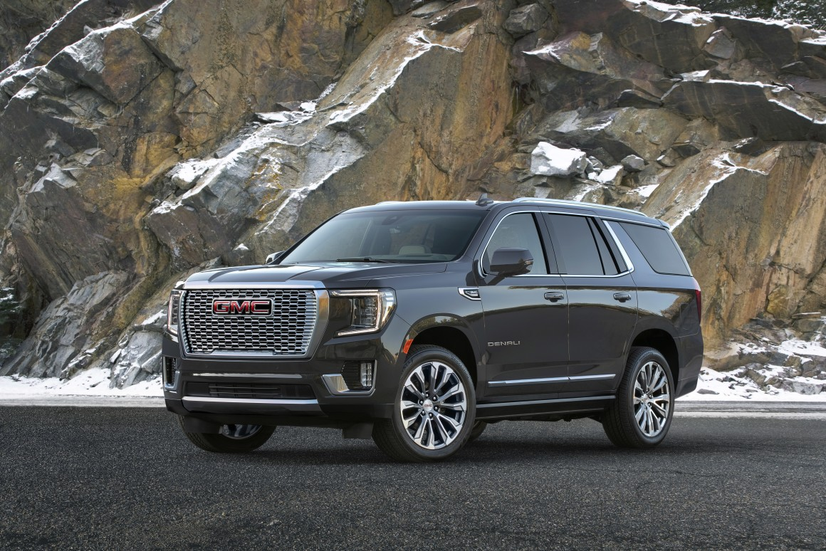 New GMC Yukon unveiled in Colorado as next-gen flagship