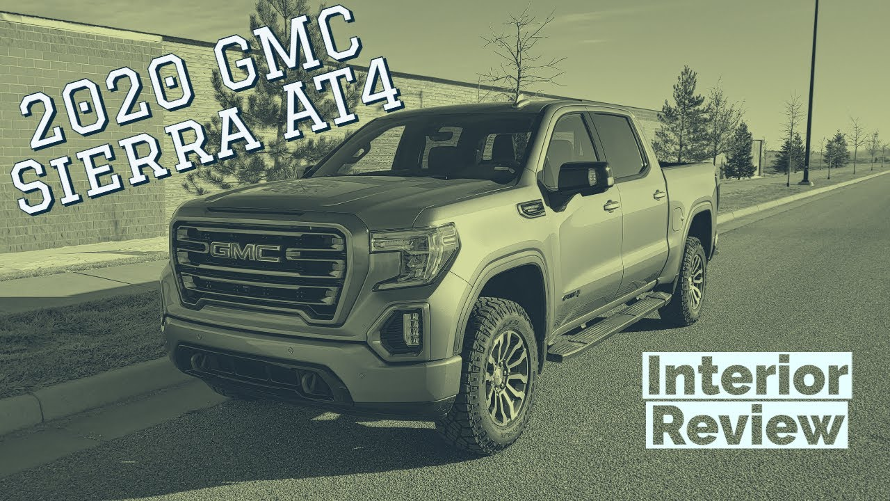 2020 GMC Sierra AT4 interior walkthrough