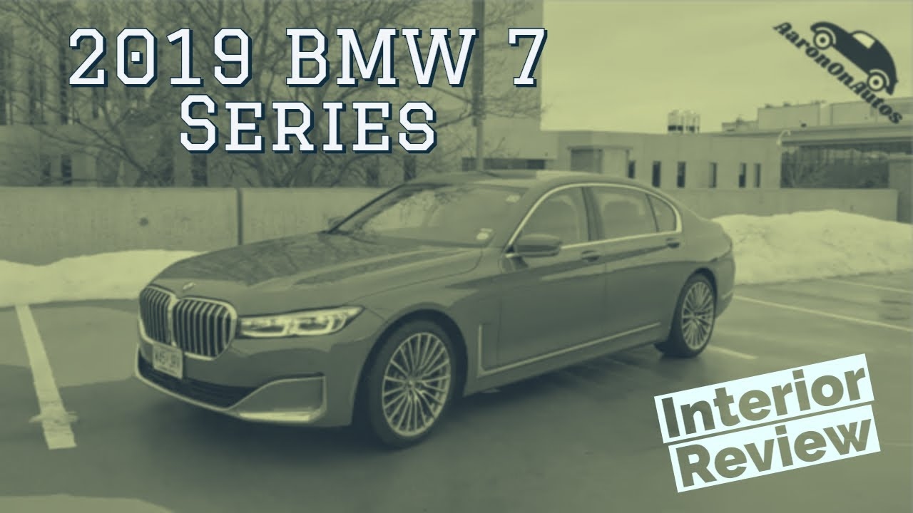 2019 BMW 7 Series interior walkthrough