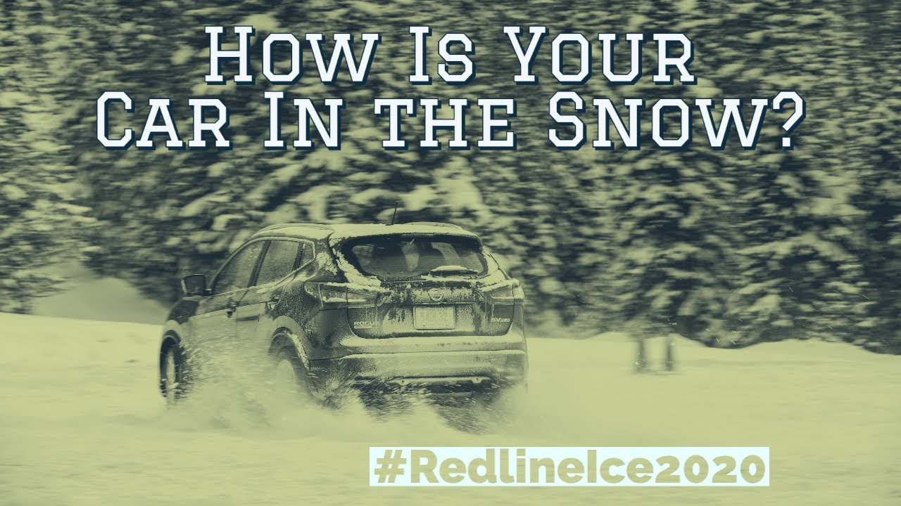 Winter Driving Conditions Testing at #RedlineIce2020