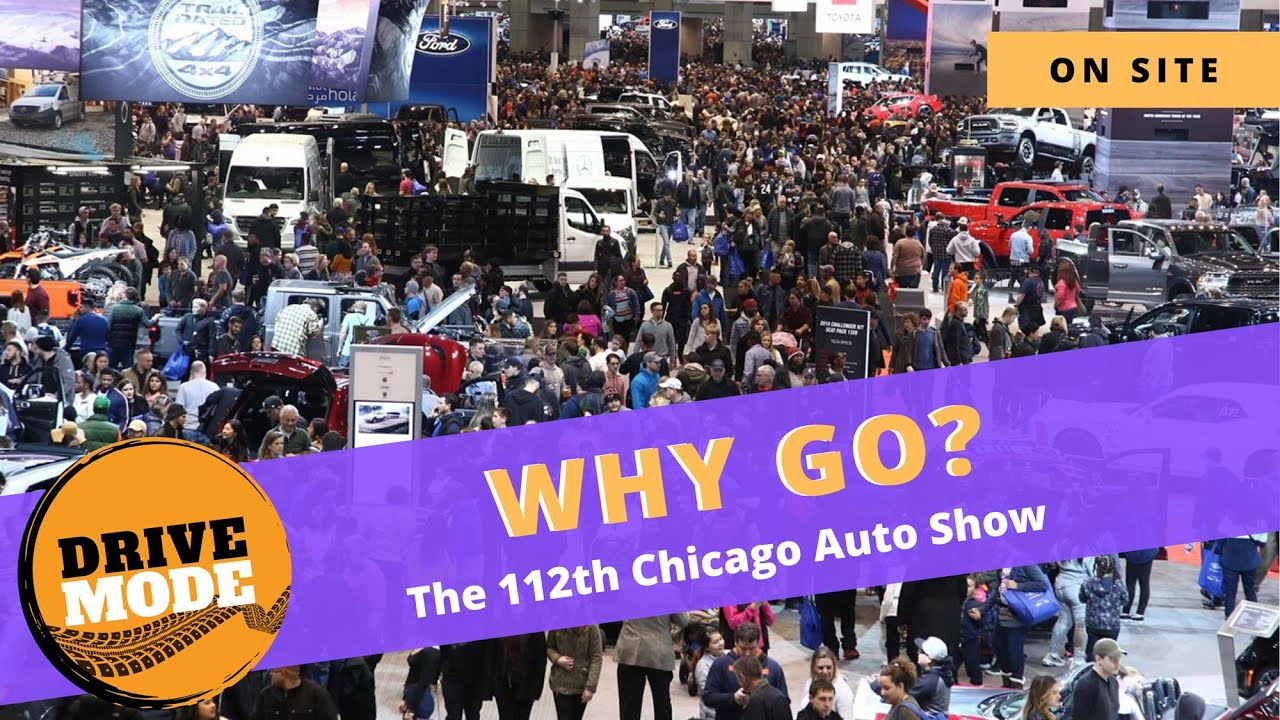 Why Going to the Auto Show is Awesome