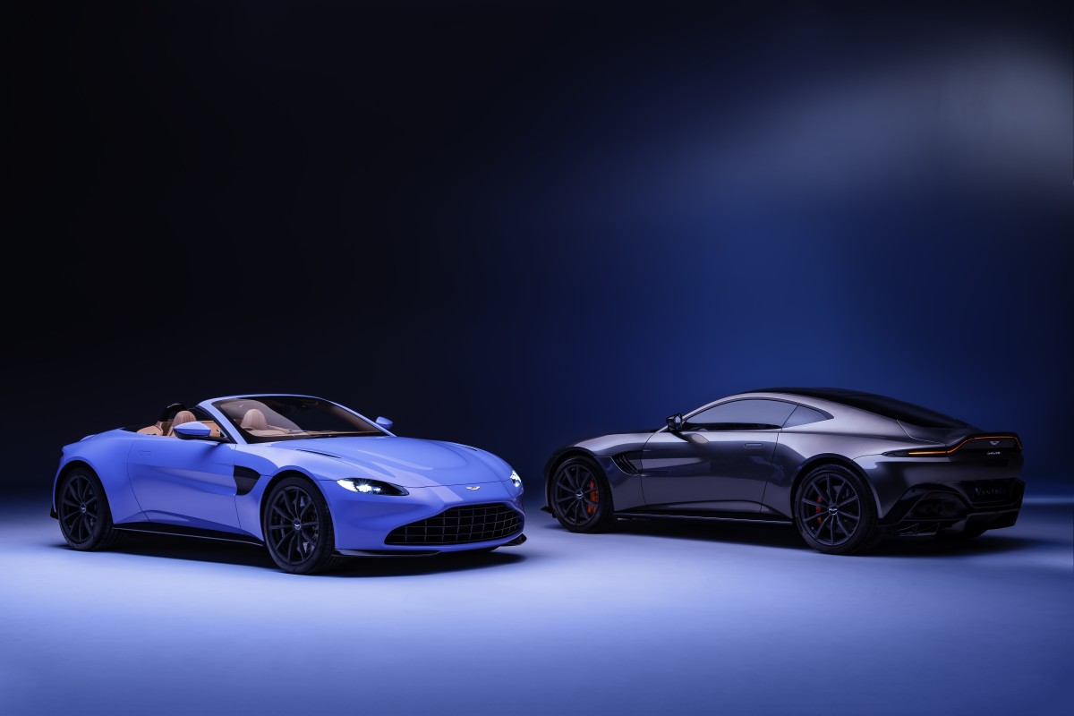 Aston Martin unveils 190mph Vantage Roadster