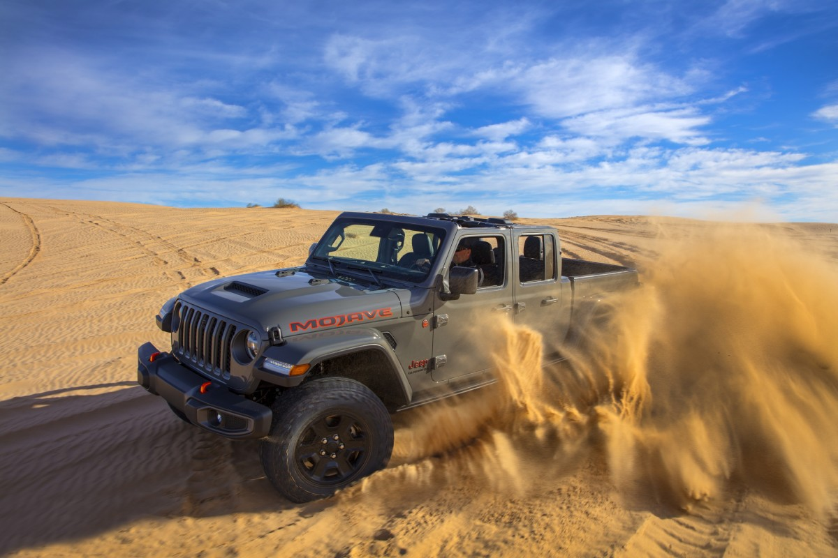 New desert-focused Jeep Gladiator Mojave unveiled in Chicago