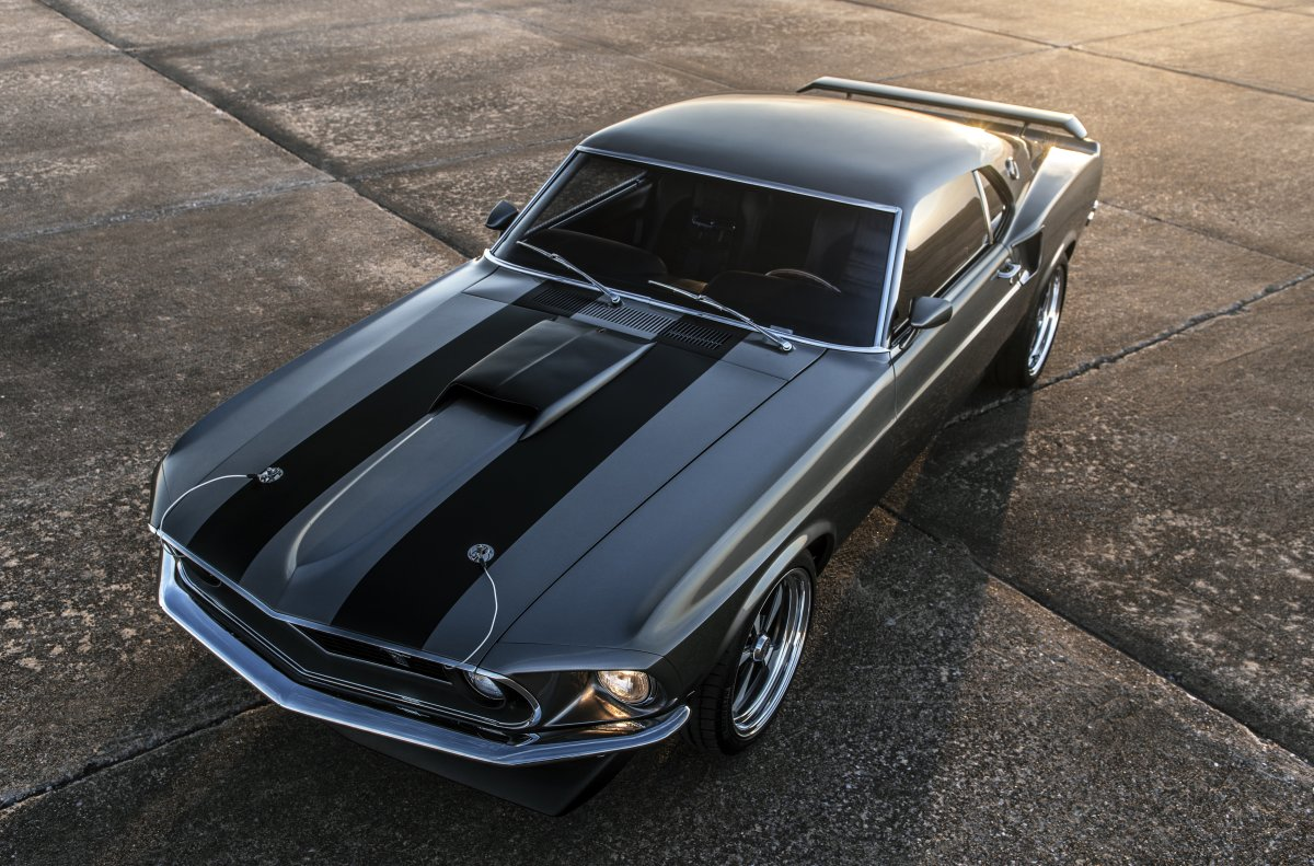 "The 1,000-hp 1969 Mustang Mach 1 ""Hitman"" with John Wick paint job"