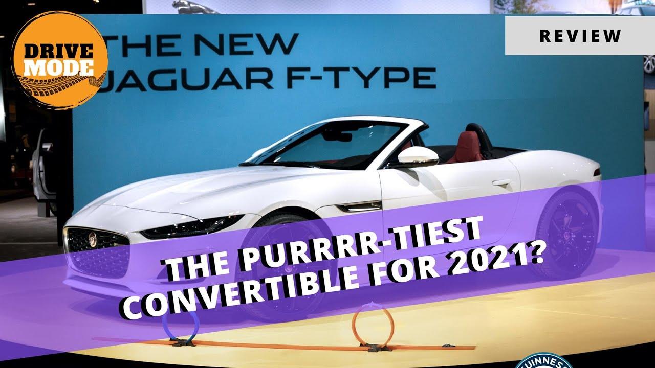 2021 Jaguar F-Type Walkaround