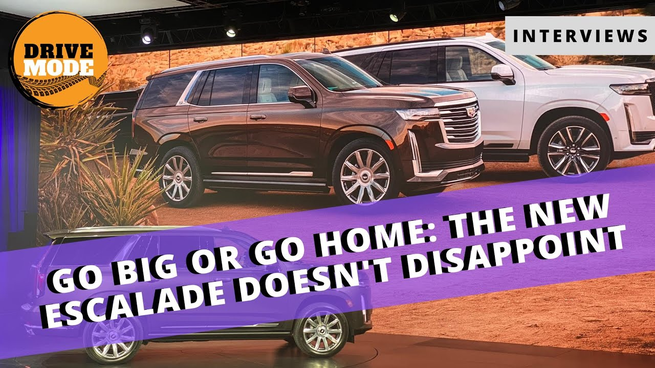 2021 Cadillac Escalade Unveiled and Detailed