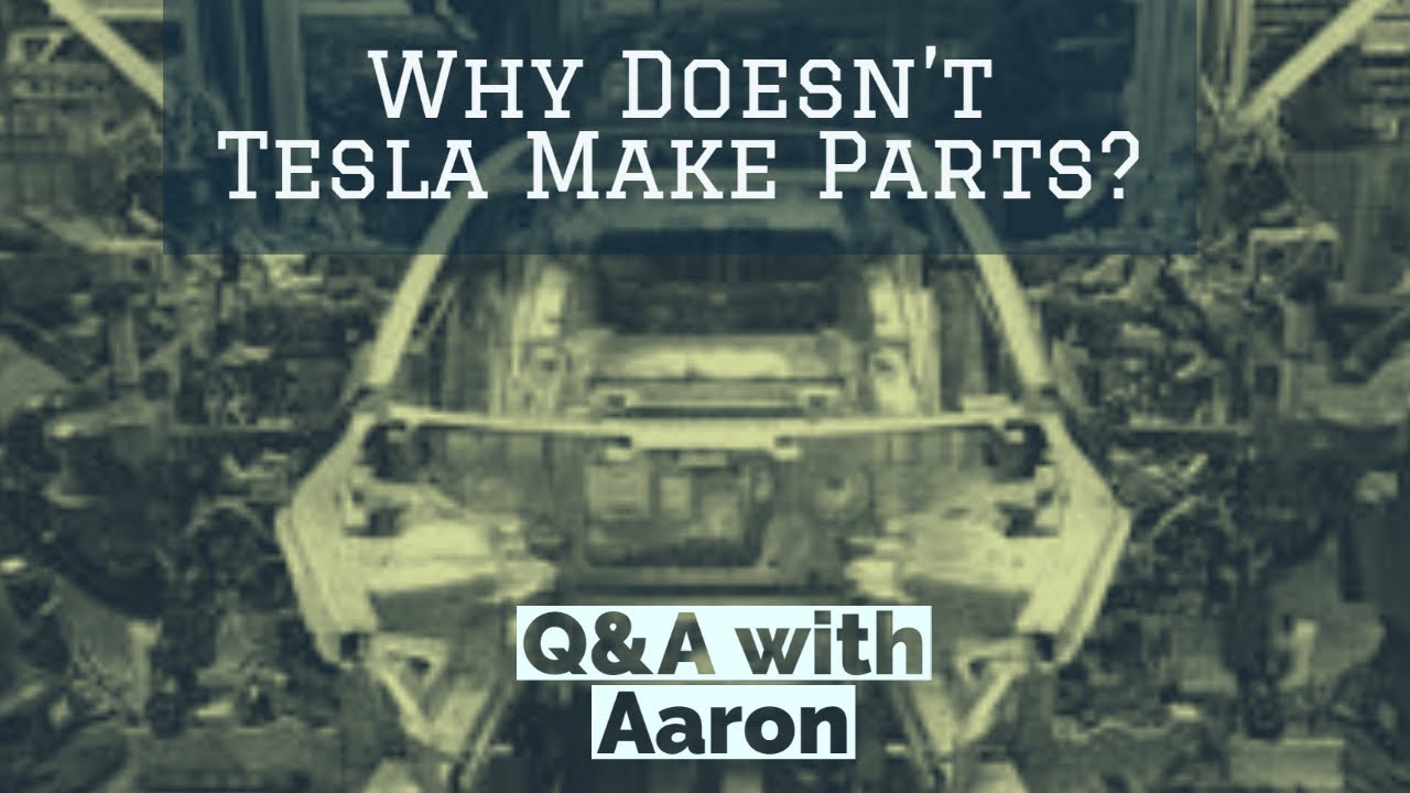 Q&A: Why Can't I Get Parts for My Tesla?