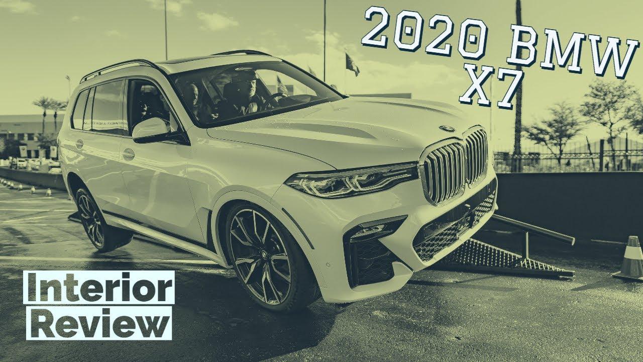 2020 BMW X7 interior walkthrough