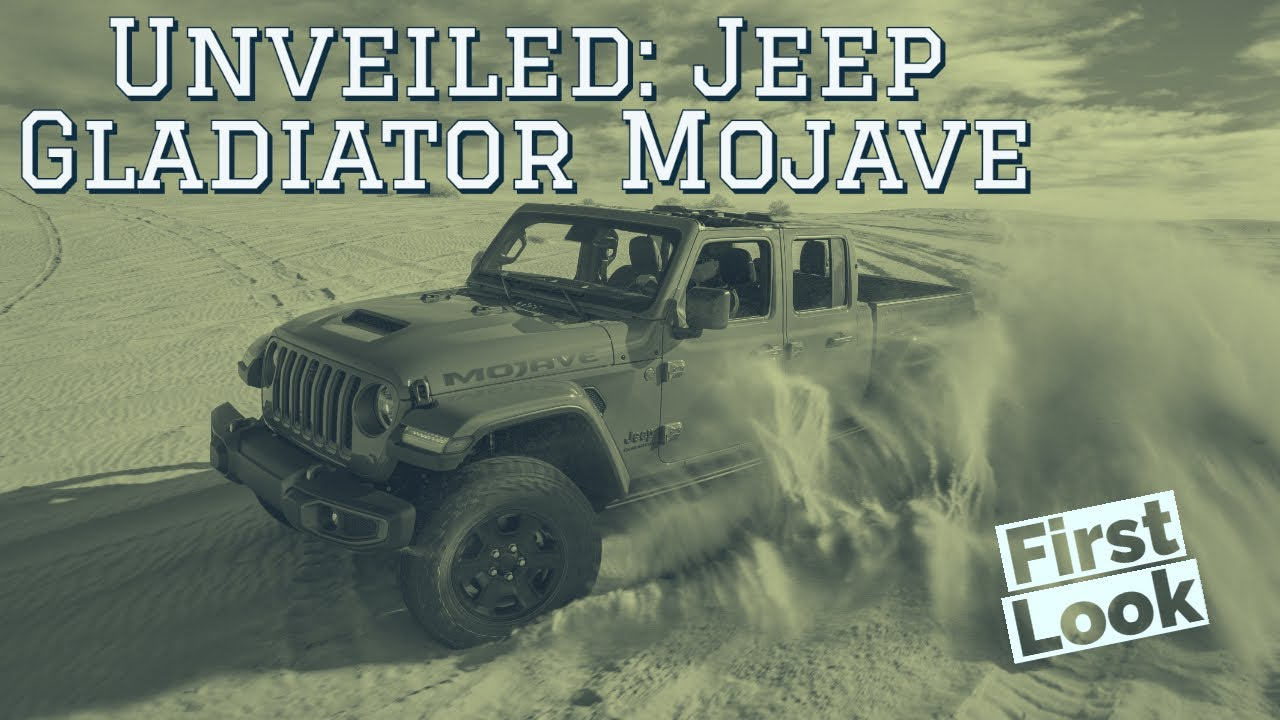 Jeep Gladiator Mojave Unveiled in Chicago