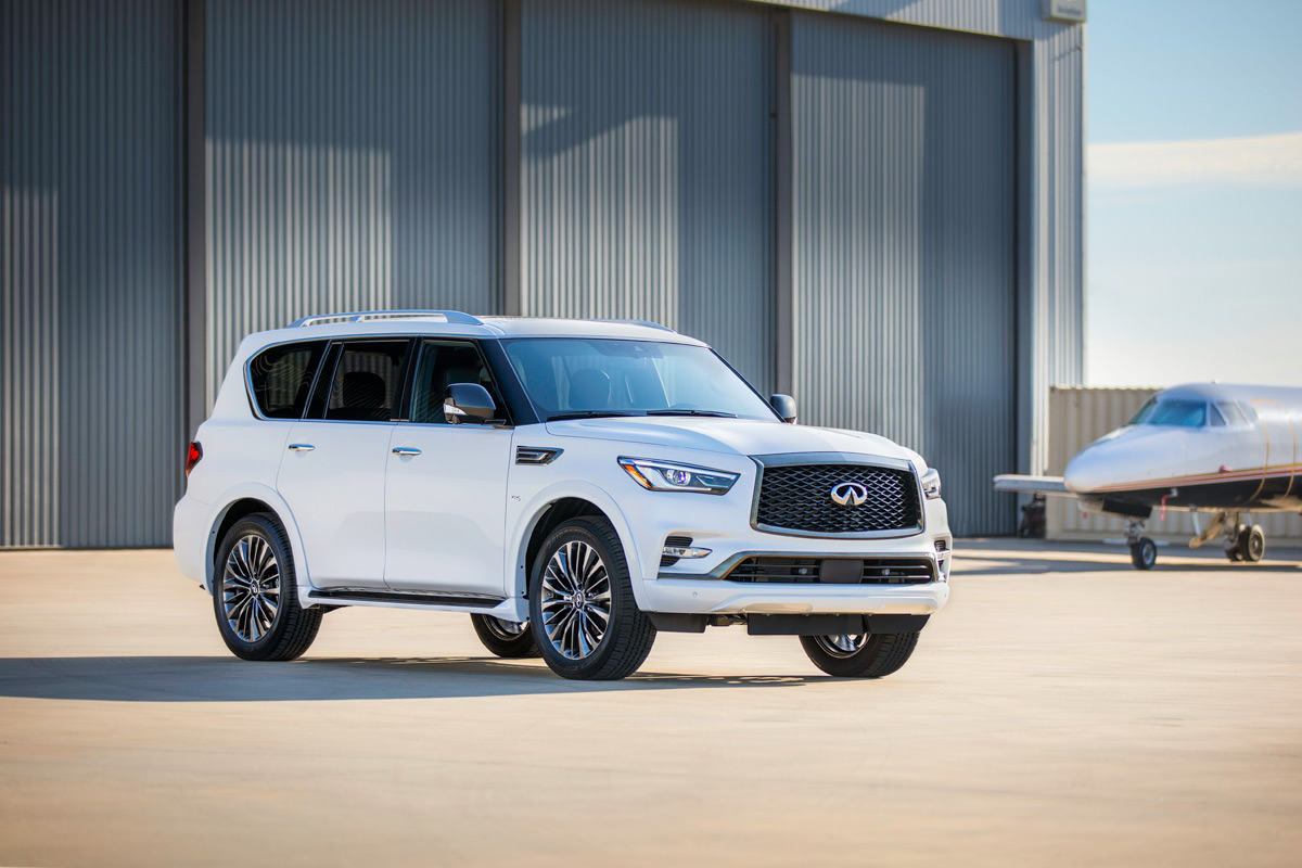 Review: 2020 Infiniti QX80