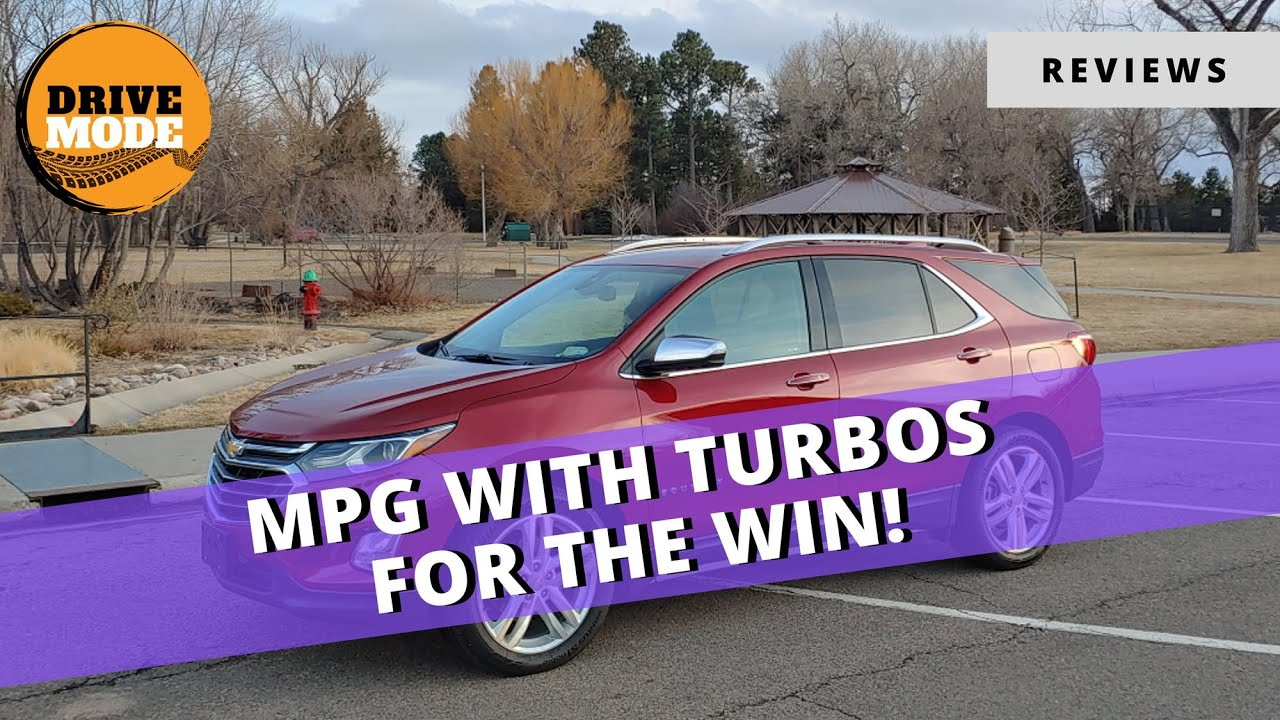 2020 Chevrolet Equinox Has Turbos!