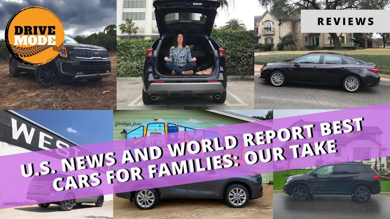 Our Take on US News' Best Family Vehicles of 2020