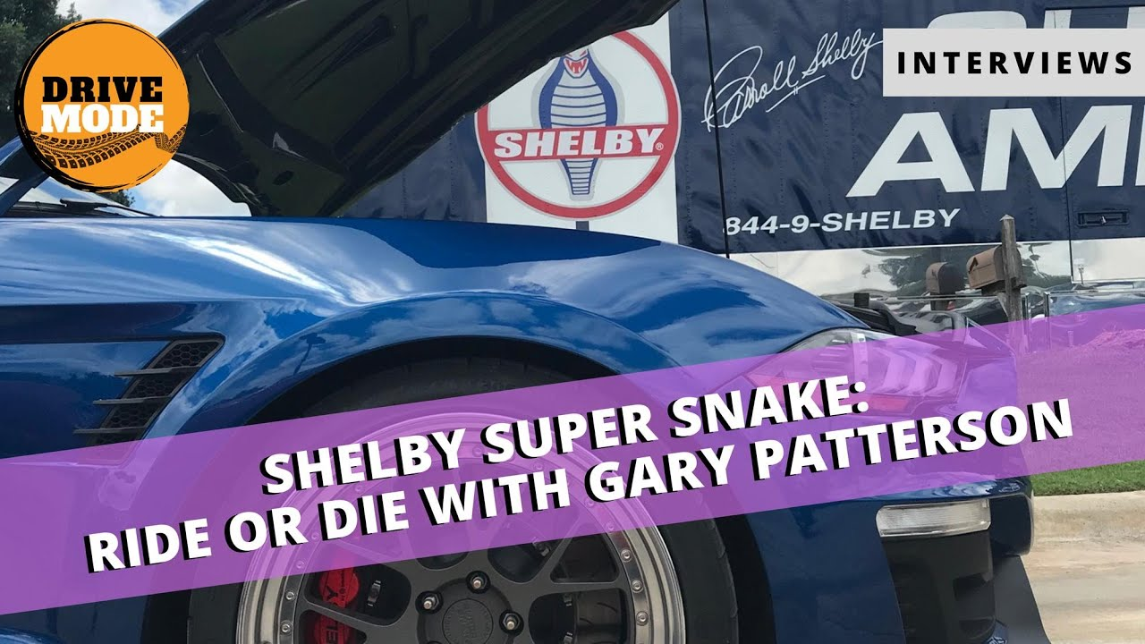 2020 Shelby Supersnake with Shelby American's Gary Patterson