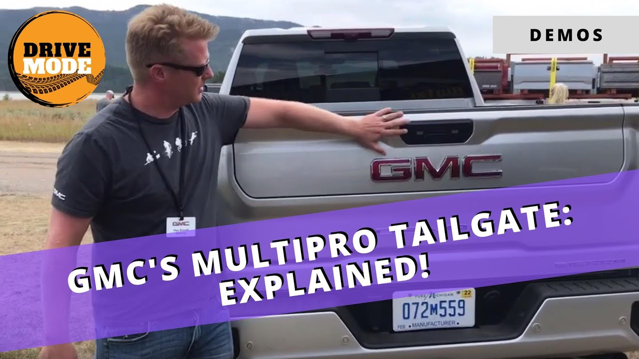 GMC MultiPro Tailgate Demo